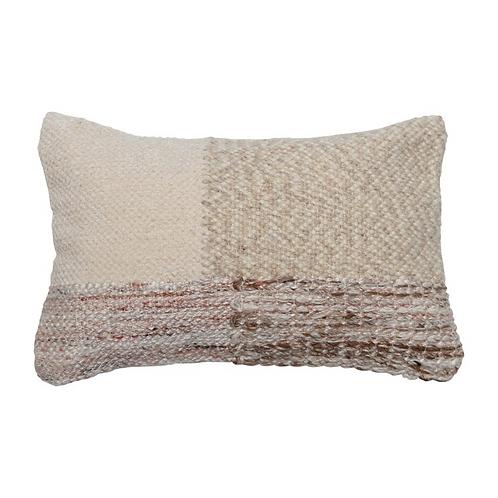 Cream Multi Woven Pillow