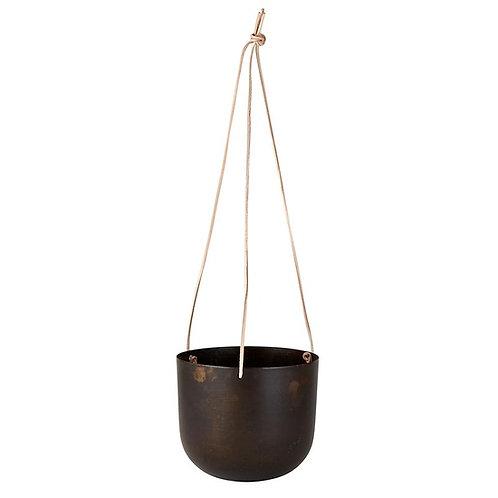 Black Metal Hanging Planter