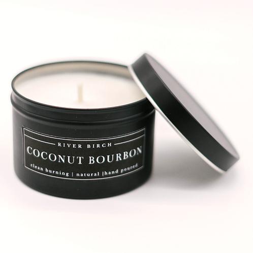 8oz Coconut Bourbon Soy Candle