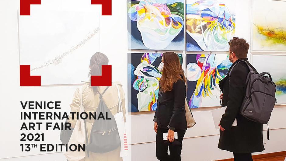 Ein Bild geht on Tour - Venice International Art Fair 2021