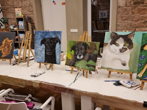 Hund-Katze-Maus... Male dein Haustier