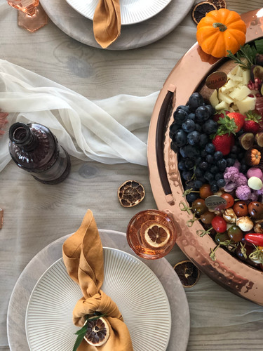 Friends Gathering Place Setting