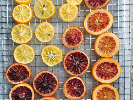 Spring's Favorite Garnish: Candied Citrus