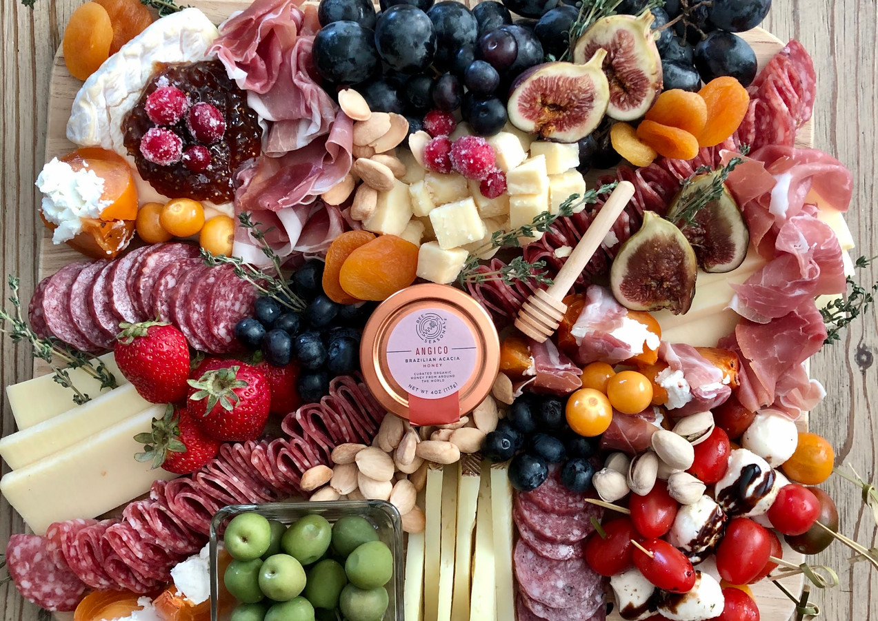 medium square cheese board