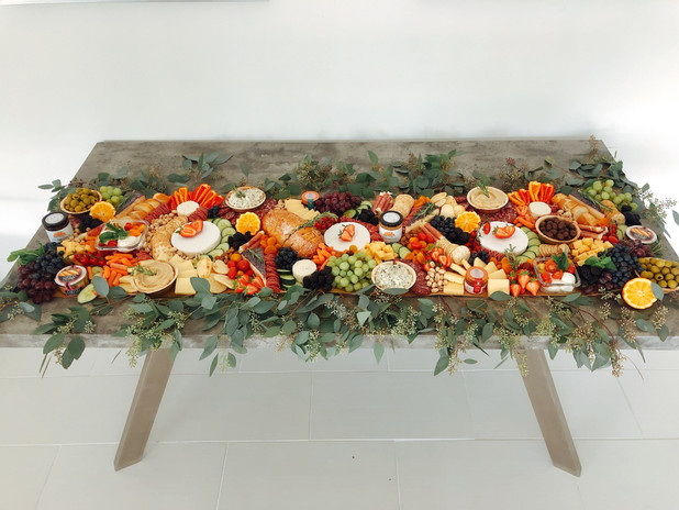 Flat Lay Grazing Table