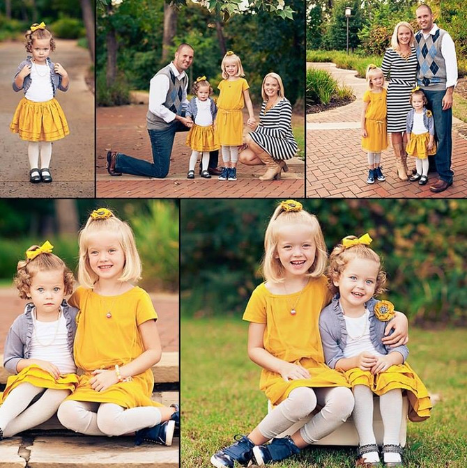 Одежда для семейной фотосессии, рекомендации