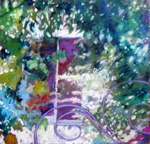 Milano - La finestra nel giardino di via Tessa