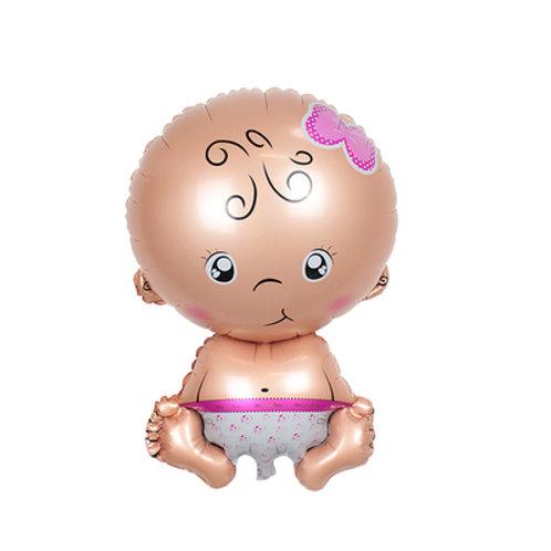 Baby girl 百日宴系列氣球(小/大)