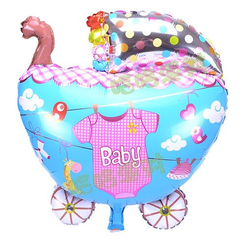 BB車百日宴氣球