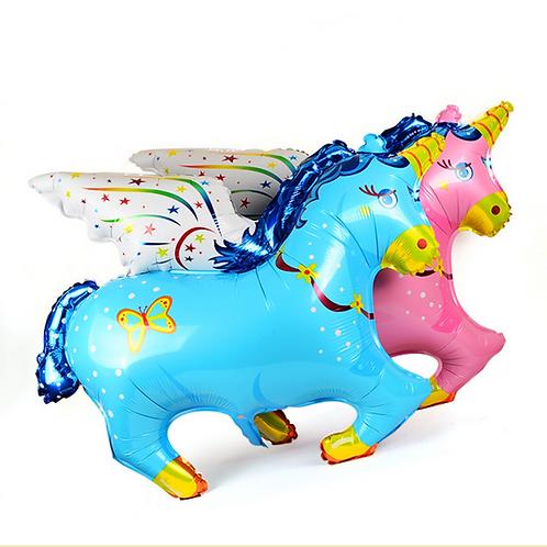 飛天馬百日宴系列氣球