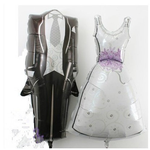 婚紗西裝氣球