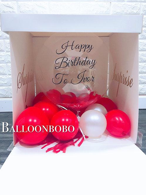 Surprise Box氣球盒子
