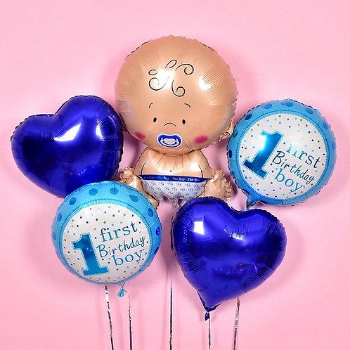 Baby Boy氦氣球套裝
