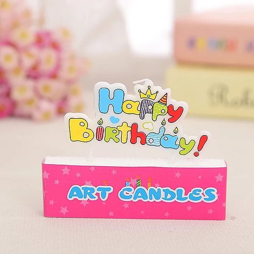 Happy Birthday Candle(2)