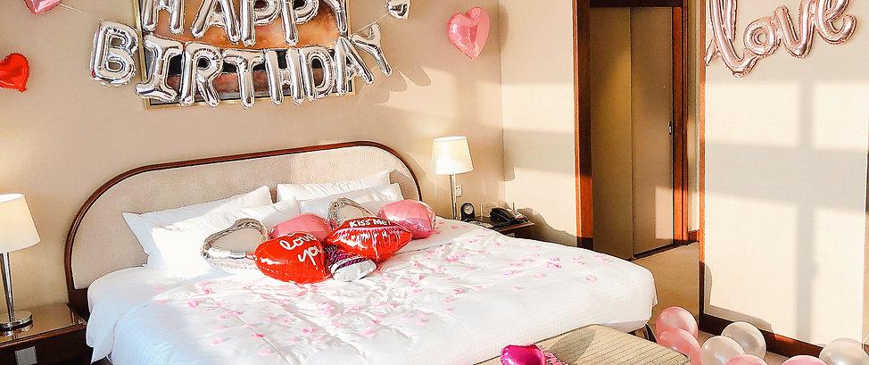 Kiss心心氣球套餐
