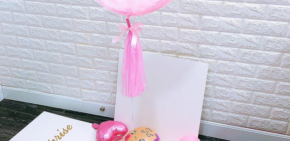 Gender Reveal Balloon Box BB女性別氣球盒