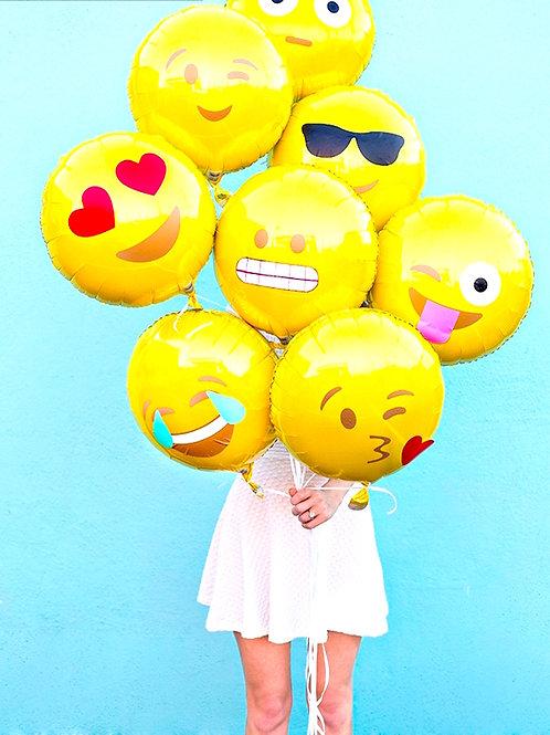 Emoji 18吋氣球
