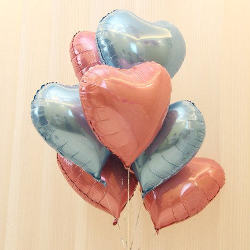 18吋心心氦氣球