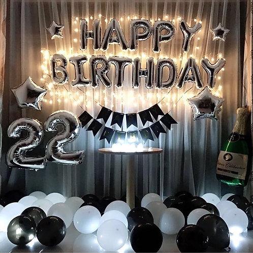 生日數字氣球套餐no. balloon set