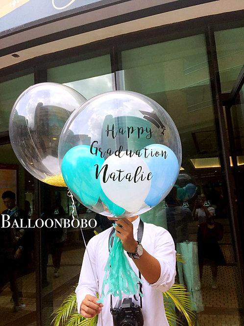 畢業水晶氣球Graduation Crystal Balloon