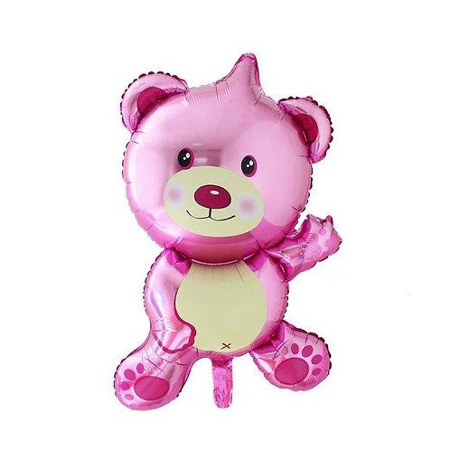 粉紅熊仔百日宴系列氣球