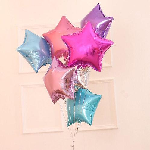 18吋星星氦氣球