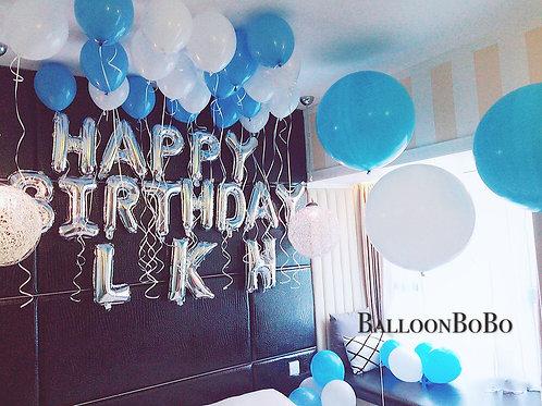 36吋巨型氣球生日佈置