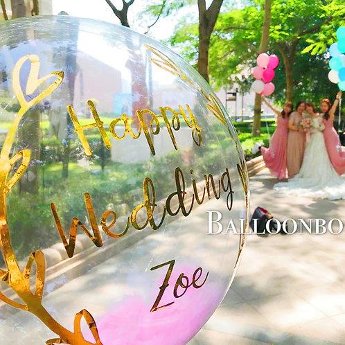 Wedding結婚水晶球