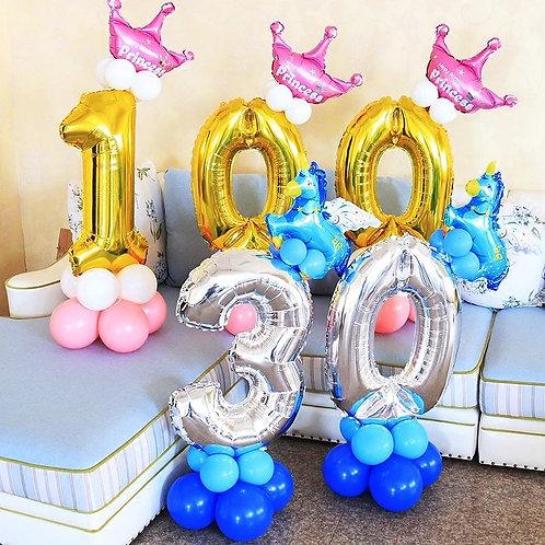 百日宴氣球座