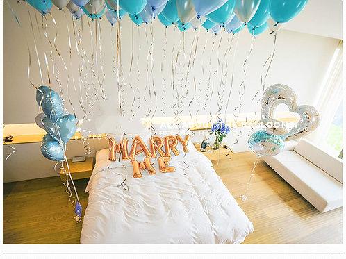 求婚氣球上門佈置