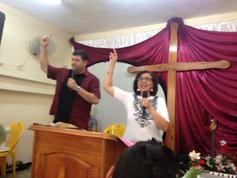 Preaching in Havana, Cuba