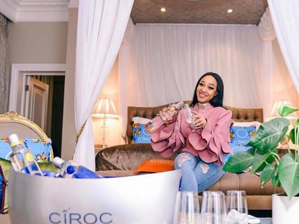 Thando Thabethe Is The New Ciroc Vodka SA Brand Ambassador!