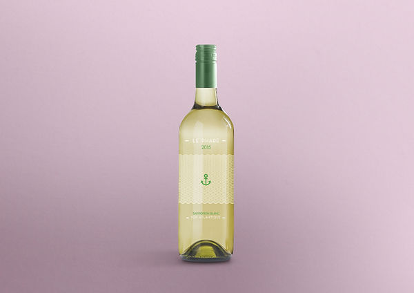 Le Phare - IGP atlantique - winelabel   Lyon   Jeremy Charlot