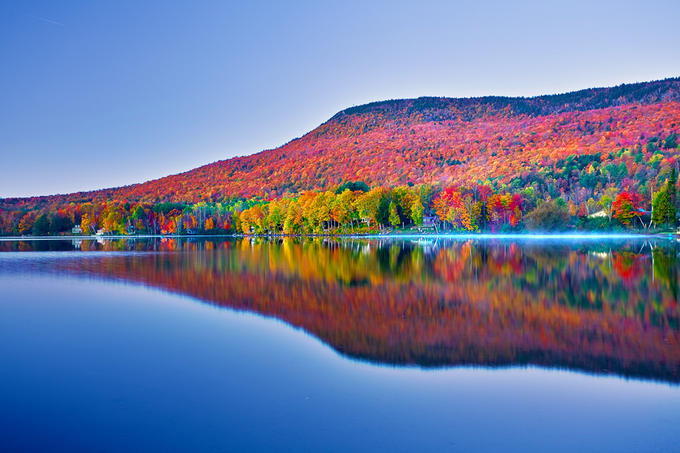 Lake Elmore - Fall Foliage