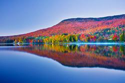 Lake Elmore - Fall Foliage