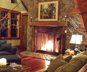 Romantic Fireplace | Stowe Meadows