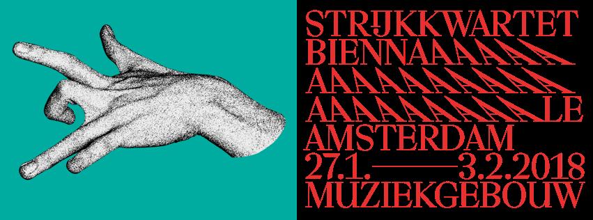 Strijkkwartet Biennale Amsterdam