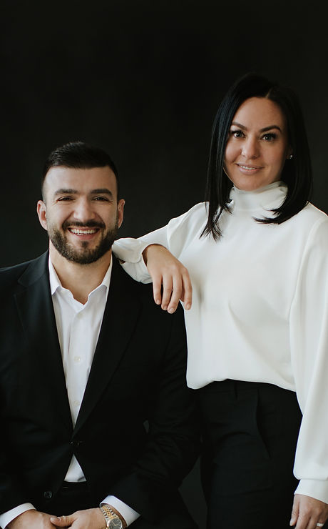 Max Rombakh Nadia Rombakh Real Estate Luxury Marketing Specialists specializing in buy and sell in K