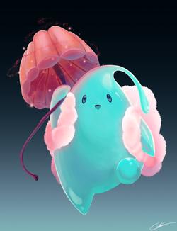 Raindrop Character