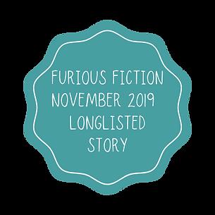 FURIOUS FICTION NOVEMBER 2019 LONGLISTED