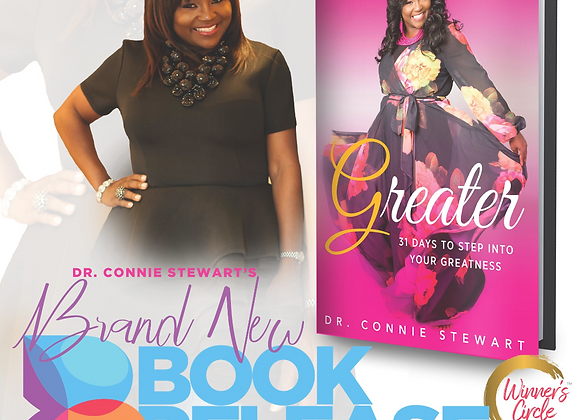 Book: Greater 31 Days to Walk Into Your Greatness
