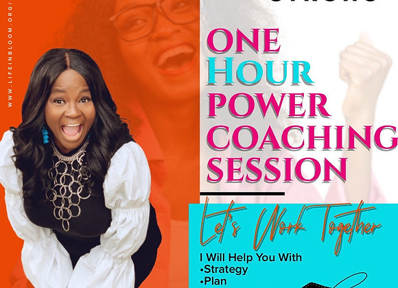 ONE HOUR POWER COACHING SESSION