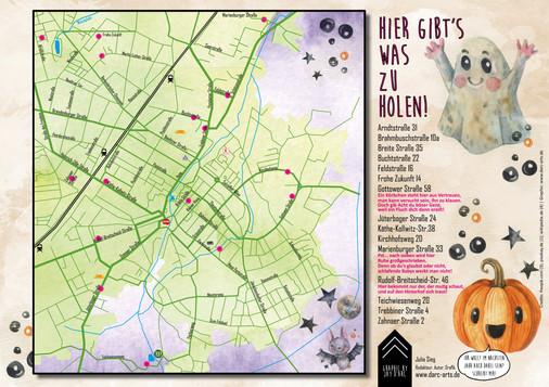 Halloween-Karte 2019 Luckenwalde