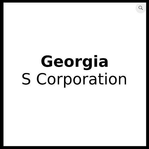 Georgia S Corporation