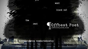 Redacted Poetry 501: How to Make it R.A.I.N. Redacted Poetry