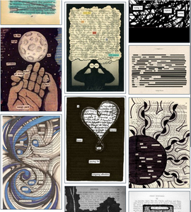 Find Found Poetry Pinterest Board-Offbeat Poet
