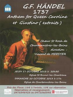 Concert Oct 2013 Handel