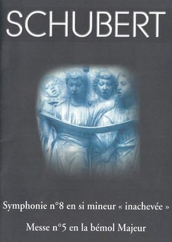 Concert Mai 2004 Schubert