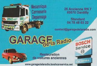 Garage de la radio