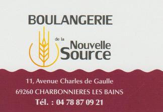 Boulangerie nouvelle source